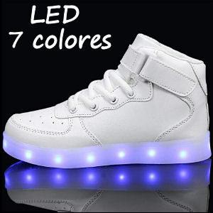 Zapatillas con LEDS para niños